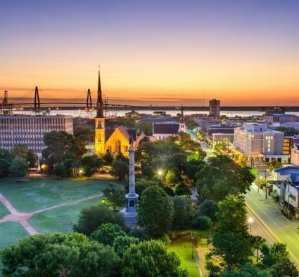Marion Square in charleston sc
