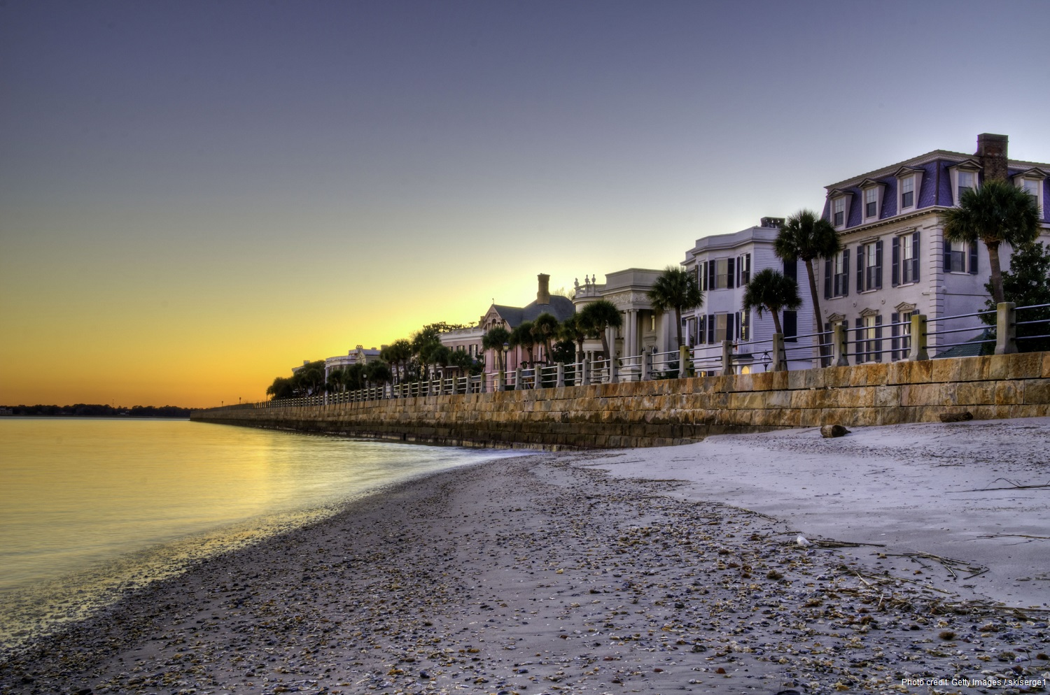 Charleston, South Carolina is home to some of the most beautiful homes and ocean views.