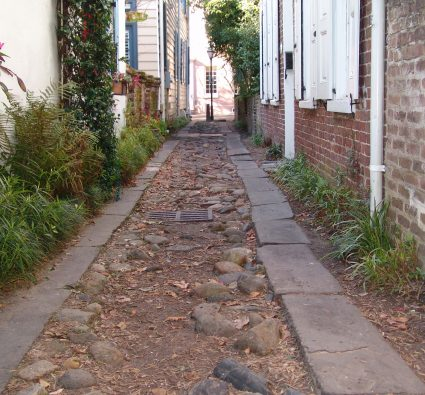 Learn about the city's hidden past when exploring this secret alleyways in Charleston.