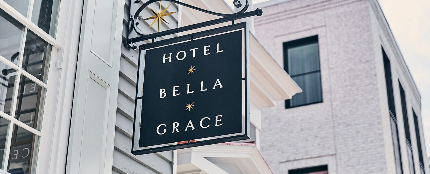 Exterior of Hotel Bella Grace