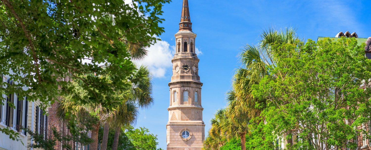 Visit some of these beautiful churches in Charleston, SC.