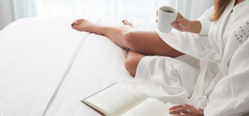 Reading on Bed