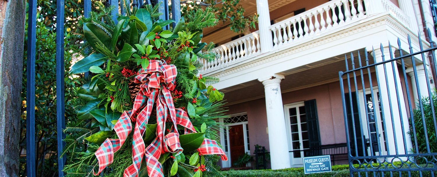 This year, why not celebrate Christmas in Charleston?